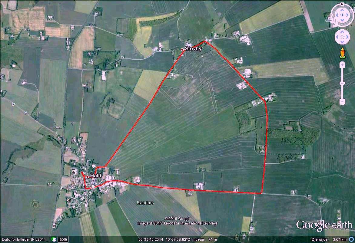 Stouby 6.7 km